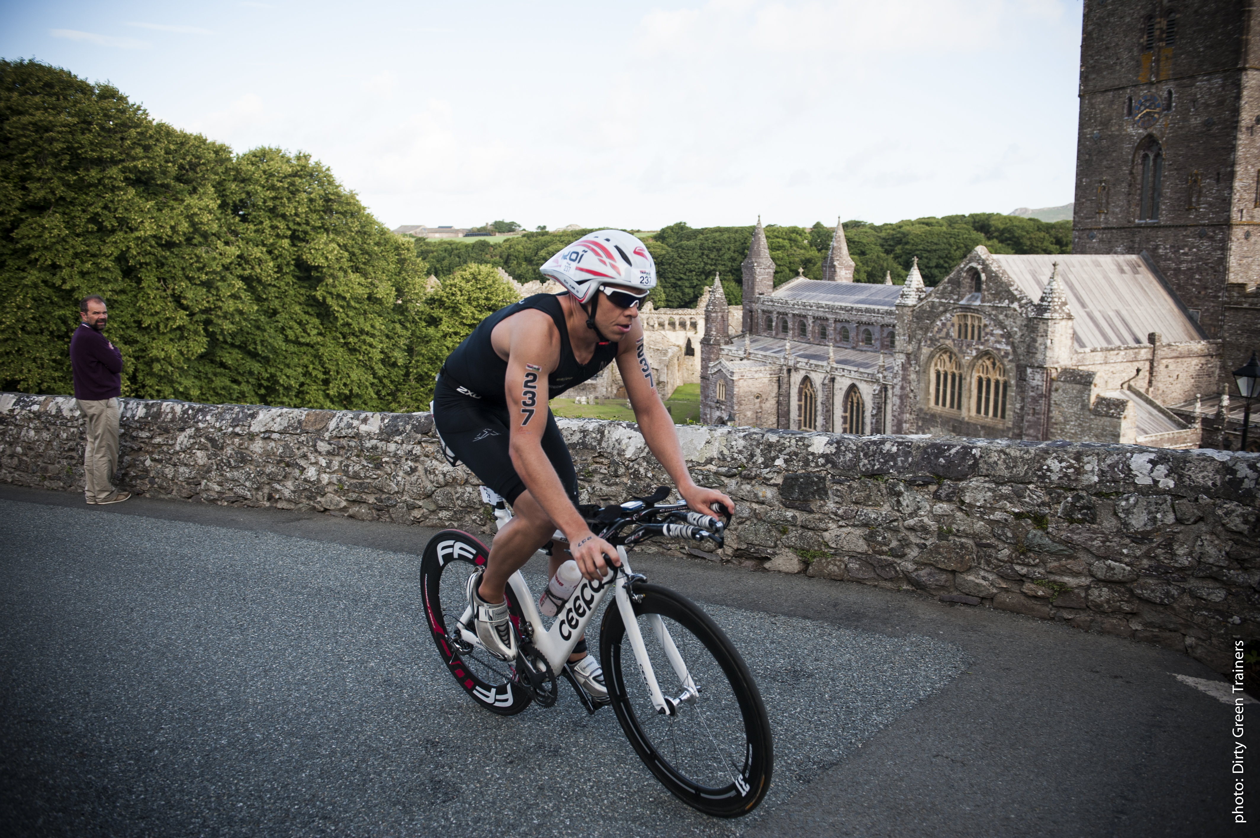 Wales Triathlon Bike Course